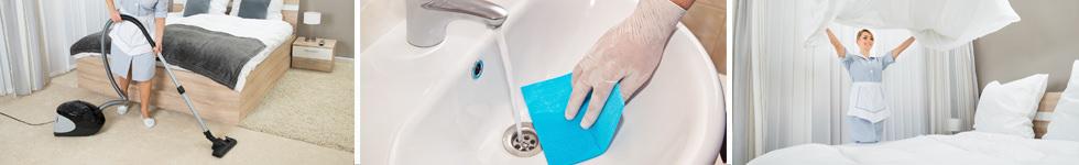 Reinigung von Hotels und Hotelzimmern